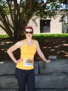 Before the race! Ottawa 2km-May 2014