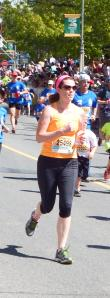 Running my first race ever! Ottawa 2km-May 2014